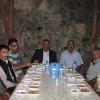 Nalbantoğlu'ndan iftar Çadırında Yemek