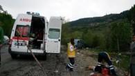 Kastamonu Yolu'nda Kaza; 1 Ölü, 1 Yaralı