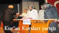 Tosya'da Kuran Kursları Yarıştı