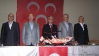 MHP İlçe Teşkilatı HAYIR için Toplandı