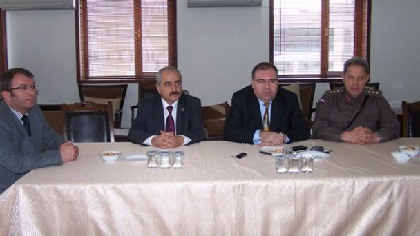 İlçe Şube Müdürleri Toplantısı Yapıldı