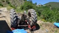 Karabey Köyü'nde Traktör Kazası;1 Ölü