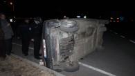 Tosya Çankırı Kavşağında Kaza