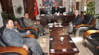 İl Müdürü Ergün, Başkan Şahin'i Ziyaret etti