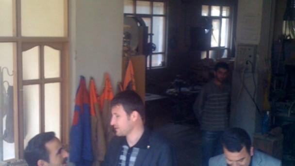 Nalbantoğlu Hafta sonu Marangoz Esnafını ve hayvan pazarını ziyaret etti