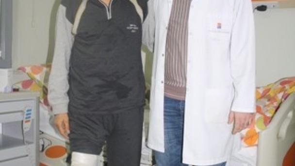 Kastamonu'da ameliyat oldu