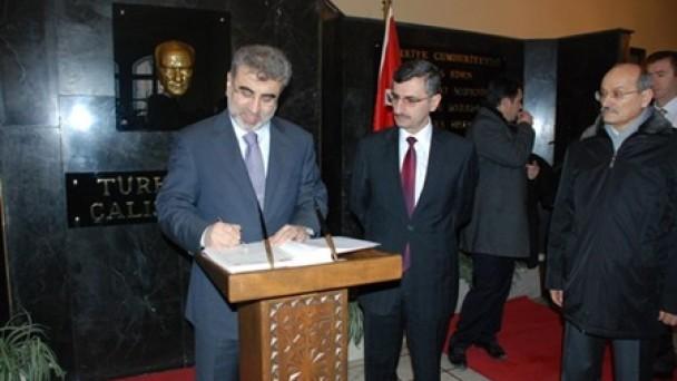 Enerji Bakanı Yıldız Kastamonu`da
