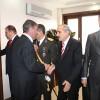 Kaymakam Türköz makamında tebrikleri kabul etti