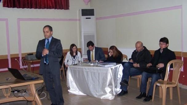 Kızlaryolu Barajı Projesi halka tanıtıldı