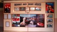 Mehmet Akif Ersoy Köşesi Oluşturuldu