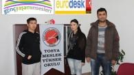 TMYO Avrupa'ya İlk Yolcularını Uğurluyor