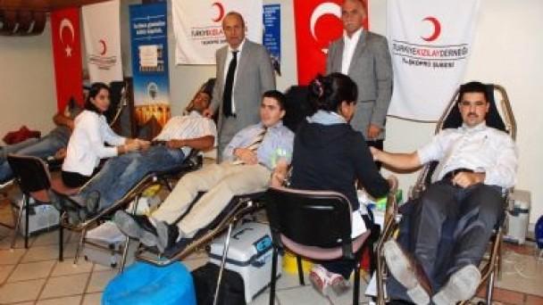 Taşköprü'de 2 günde 158 kişi kan bağışı yaptı