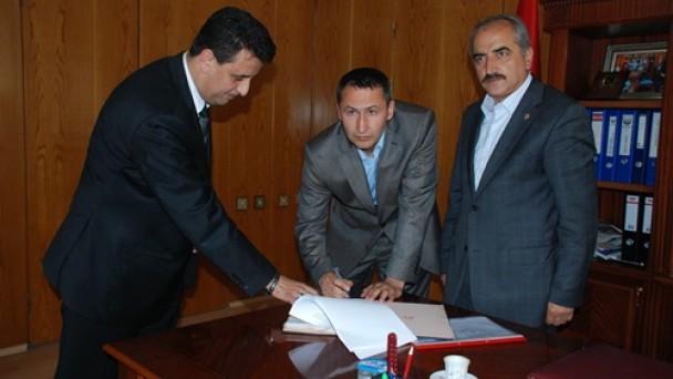Sözleşmesi İmzalandı