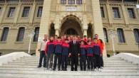 İnegöl Futbolcularından Makam Ziyareti