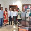 Tiyatro Oyuncularından Başkan Şahine Ziyaret