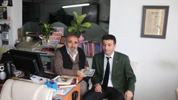 Eğitimci yazar  İlyas Kara'dan Gazetemize Ziyaret