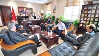 Defterdar Kısa'dan Başkan Şahine Ziyaret