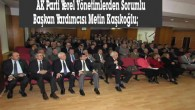 """""""KASTAMONU AK BELEDİYE İLE TANIŞACAK"""""""