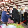 Nalbantoğlu ve Gülşen Tosya'da Destek Turunda