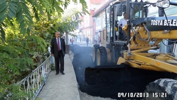 Belediyemiz Asfalt Çalışmalarına Hız verdi