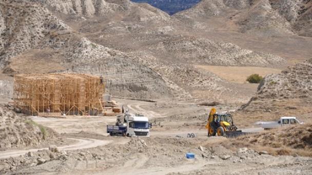 Atık Su Arıtma Tesisinde Çalışmalar Hızla Devam Ediyor