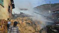 Ekincik Köyü'nde çıkan yangın korkuttu