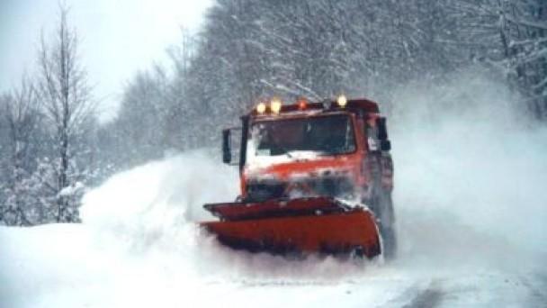 Karla Mücadele Ekiplerinin Kış Mesaisi