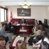 """Kaymakam Türköz'den """"Öğretmenler Günü""""nde öğretmelere jest..!"""