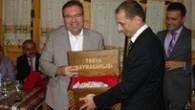 Tosya'da, Hakim Kemalettin Taşkın için veda yemeği düzenlendi