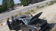 OSB Kavşağında kaza;3 yaralı