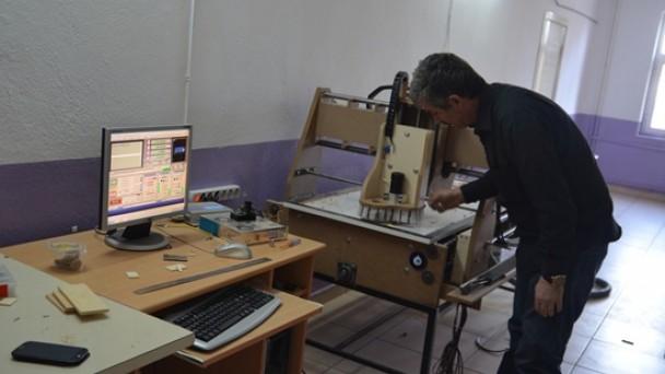 İbrahim Sabancı CNC makinesi yaptı