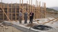 Kaymakam Türköz:'' Menfez inşaatını denetledi