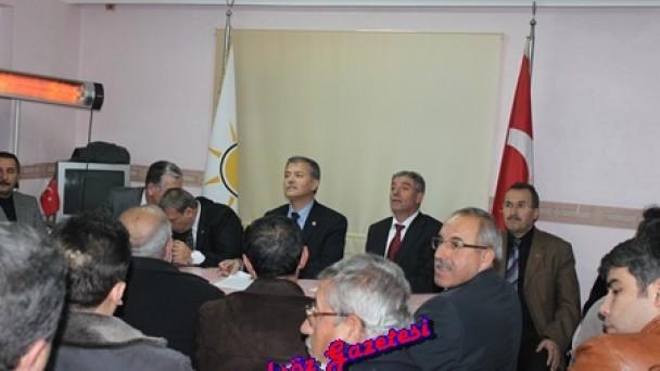 Mehmet Nil Hıdır;Tosya'lıların referandum oyunu örnek gösterdi