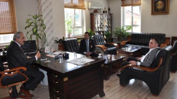 Gaziler Derneği'nden Başkan Şahine' Ziyaret