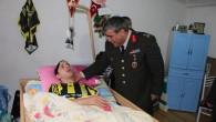Tuğgeneral Ali Aydın Gazi Fırat'ı Baba Ocağında Ziyaret Etti