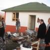 evlerin inşaatı son aşamaya geldi