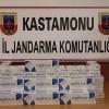Tosya'da Kaçak Sigara Yakalandı
