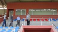 Türköz spor salonunda incelemelerde bulundu