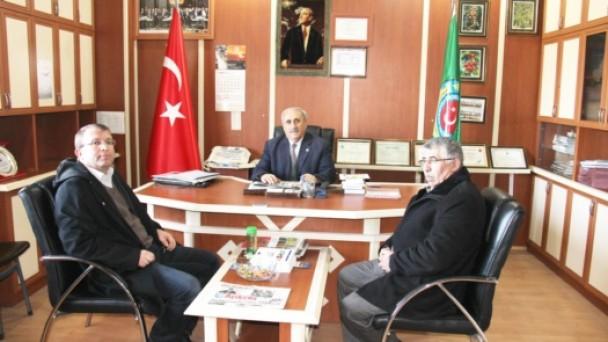 Aydoğan,Akdiken'e İadeyi Ziyarette Bulundu