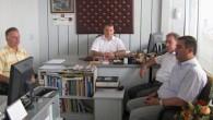 Kaymakam Türköz'den Ticaret ve Sanayi Odasına Ziyaret