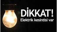 Elektrik Kesinti Bildirimi