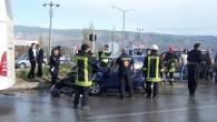Dörtyol kavşağında 1 günde iki trafik kazası
