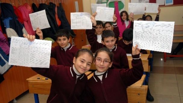 İlçemizde 6bin 873 öğrenci bugün karne alıyor