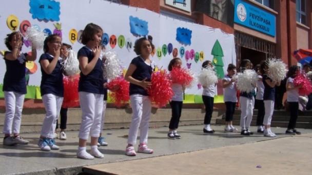 Fevzipaşa İlkokulu'nda 23 Nisan Coşkusu!