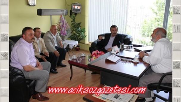 Tosyalıoğlu Gazetemiz Açıksöz'deydi