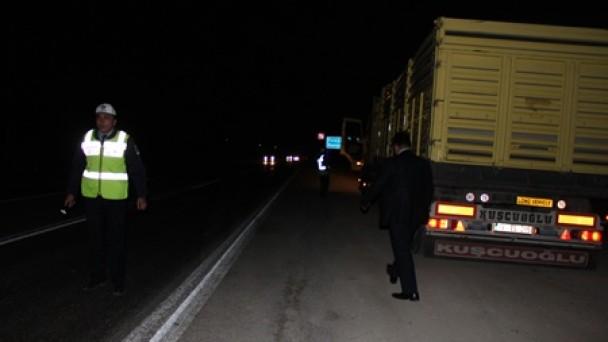 E-80'de yoğun denetim ölümlü kazaları önledi