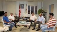 Kaymakam Türköz hastane inşaatında