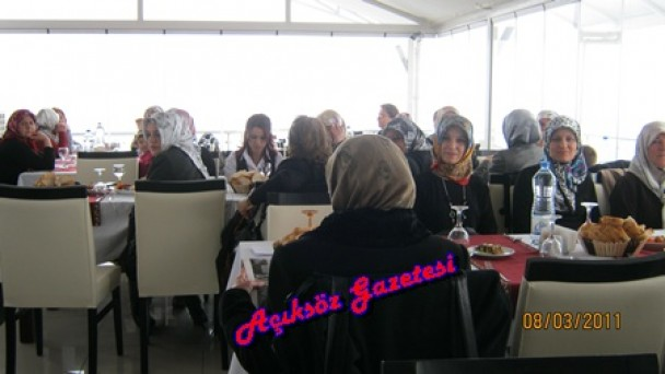 Tosya'da Kadınlar Günü Kutlaması