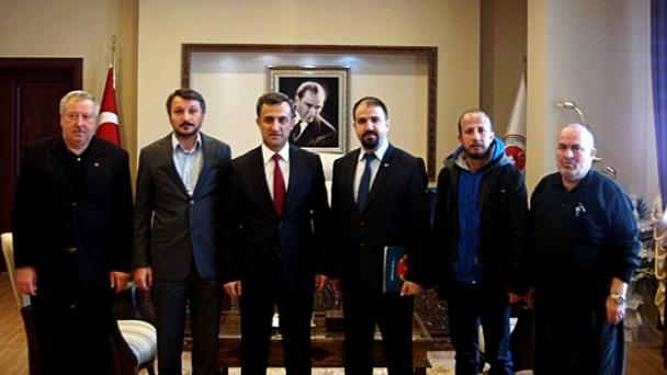 Adalet Komisyonu Başkanına ziyaret
