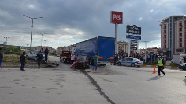 Tosya'da Kaza;3 yaralı